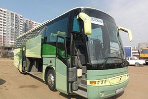 аренда автобуса volvo