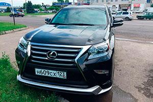 Прокат Lexus GX 460 с водителем
